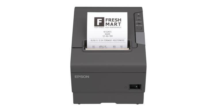 Slip printer wide